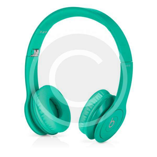 Beats Solo HD - Drenched in Teal 1